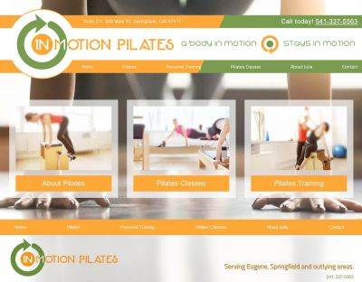 In Motion Pilates - Springfield, Or