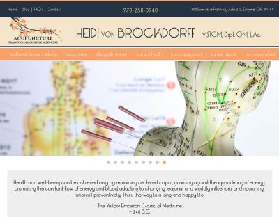 Heidi vonBrockdorff - Acupuncturist in Eugene, Or
